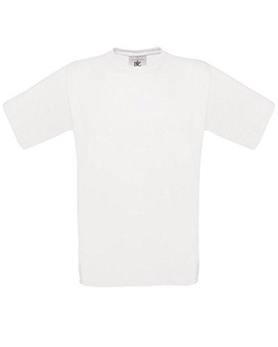 T-shirt B&C Exact 190 pour homme (L) (Blanc), occasion d'occasion  Livré partout en Belgique