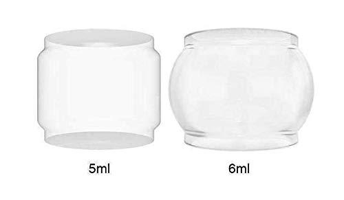 Freemax Mesh Pro Tank Ersatz Pyrex Bulb Bubble Glas Set - 28mm / 31.5mm (2 Stück) Kein Nikotin oder Tabak -