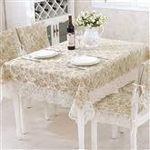 Couverture de table de rectangle de tissu carré brodé par nappe de dentelle d'or pour le décor à la maison (taille : 60 * 180cm)