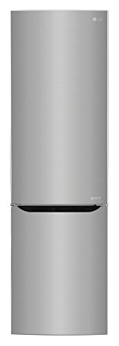 LG Electronics GBP 20 PZCFS Kühl- / Gefrierkombination / A+++ / 178 kWh/Jahr / 201 cm / 250 L Kühlteil / 93 Gefrierteil / steel / Innenliegendes Digitaldisplay / No Frost (Lg Kompressor-kühlschrank)