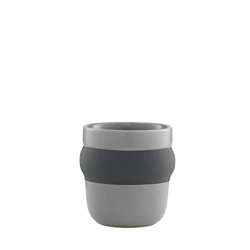Normann Copenhagen - Obi - Espresso Cup/Espressotasse - Grey/Grau - Höhe 6,2 x Ø: 6,3 cm - 80 ml.
