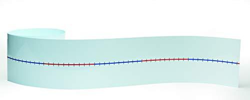 Learn Well T720 línea de números de Pared en Blanco