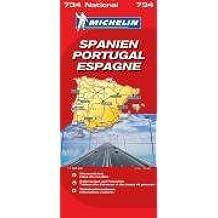 Spanien-Portugal (Michelin Nationalkarte)