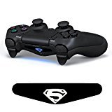 iProtect LED Barra luminosa auto adesiva LED per PlayStation 4 Controller DualShock 4 Superman