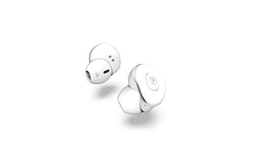 Ryght AIRGO True Wireless écouteurs sans fil Bluetooth avec étui de recharge - blanc
