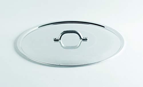 Agnelli family coperchio, alluminio, argento, 40 cm