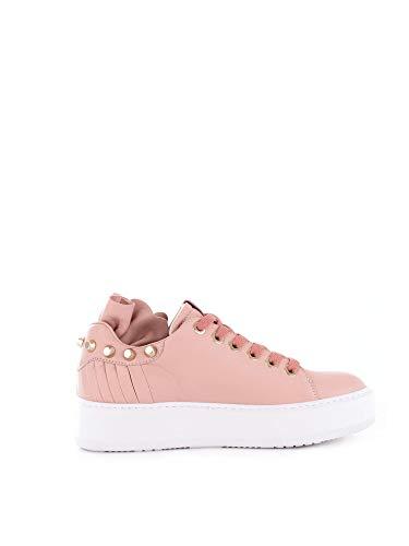 Cesare Paciotti 4Us Damen Ttsd2bnmrosa Rosa Leder Sneakers