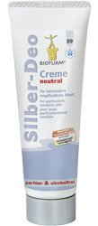 Bioturm Silber-Deo Creme neutral 50 ml