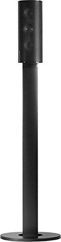 Harman/Kardon HTFS 3/E Aluminium Säulen-Standfuß mit Kabelkanal (Paar) Höhe 820mm Kompatibel mit HKTS 20/30/30SAT/60/200 und BDS 400/800 Satellitenlautsprechern - Schwarz