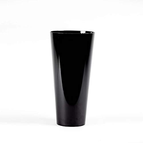 Cónico Plástico Acrílico Jarrón 35cm Altura -