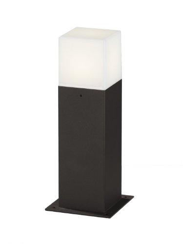 Trio Leuchten LED Außen-Wegeleuchte, Aluminiumguss, inklusiv 1 x E14, 4 W, Höhe 30 cm, anthrazit 520060142