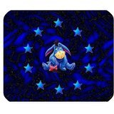 leonardcustom- personalizada Rectángulo de goma antideslizante alfombrilla de ratón Gaming Mouse Pad/mat- Cartoon Winnie the Pooh Eeyore burro – lcmpv1018