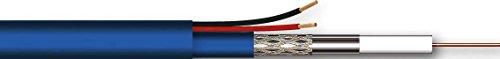 Grothe Kombi-Koaxialkabel HD8215 HD8 200m Ring Folie Koaxialkabel 4011459399092