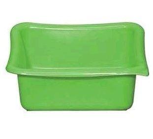 ALUMINIUM ET PLASTIQUE Cuvette carrée 5,5 L vert - CC29 V