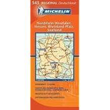 NRW/Hessen/Rheinland-Pfalz/Saarland (Michelin Regionalkarte)