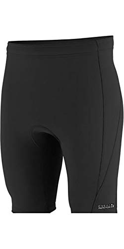 O\';Neill Youth Kinder Junior Reactor II 1,5 mm Neoprenanzug Shorts Schwarz - Easy Stretch - Unisex