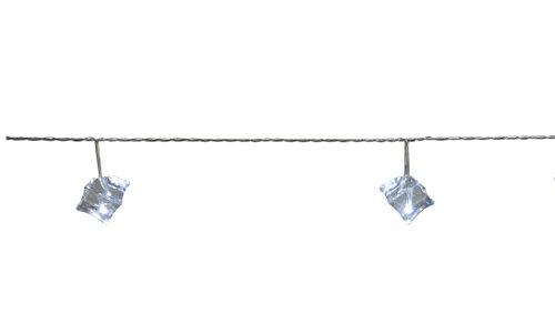 Lichterkette LED Icecube Cool Light Kabeltranparent 20er Liefermenge = 1