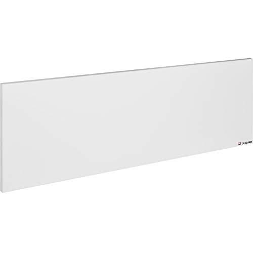 TecTake 800582 Infrarotheizung, GS-geprüft von TÜV SÜD, mit Überhitzungs- und Überspannungsschutz, Schutzklasse IP44, inkl. Wandhalterung - diverse Größen - (550 Watt | Nr. 402974)