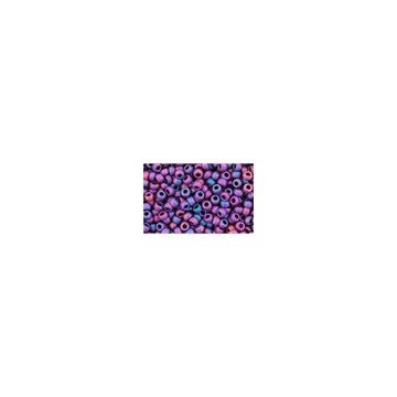 I-Beads cc515f Toho Rocailles 11/0 Higher Metallic Frosted Mardi Gras 10 g