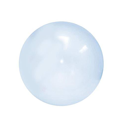 Jerome10Dan-OD Riesen-TPR-Ballons Aufblasbarer Ball Spielzeug Wassergefüllter Ballon Weicher Gummiball Aufblasbarer TPR-transparenter Wasserball