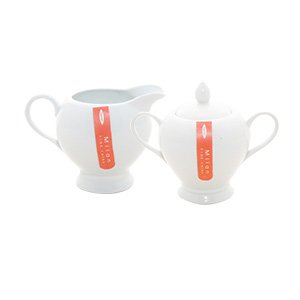 Rayware Milan Sugar and Creamer Set Gift Boxed, White by Rayware