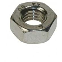M3 Full Nut (50 Pack) 3mm A2 Stainless Steel Hex Hexagon Nuts Free UK Delivery