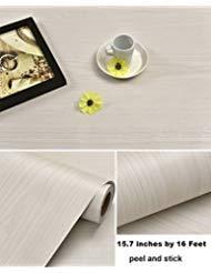 Handwerk-regal-schrank (Selbstklebende Kunstleder Light Nature Wood Grain Kontakt Papier Regal Schublade Liner für Küche Schränke Regalen Schublade Tisch Kunst und Handwerk Aufkleber 60 x 500 cm)