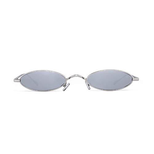 BAIF Die Sonnenbrille Weibliche Koreanische Version Vintage Flut Harajuku Stil Star Models Oma Spiegel Persönlichkeit Sonnenbrille (Farbe: GRAU)