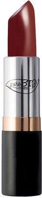 PUROBIO - Lippenstift , Lipstick - 08 Purpurrot - BIO, Vegan, Nickel Tested, Hergestellt in Italien