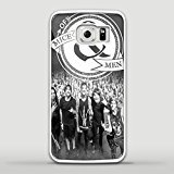 of mice & men concert Design GNO for Samsung S6 Edge White case