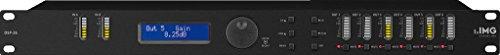IMG STAGELINE DSP-26 digitales Lautsprechermanagement-System, Controller mit modernen DSP-Prozessoren und Digitalwandlern, Equalizer mit 2 Eingängen und 6 Ausgängen, in Schwarz