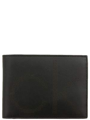 Calvin klein k50k503958 portafoglio uomo nero generica