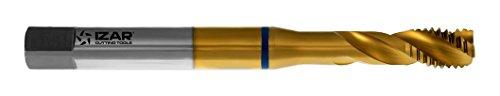 Izar 21852–männlich Maschine für Holz-Metall HSSE + Tin DIN371(M) Inox Tin 06,00X 1,00