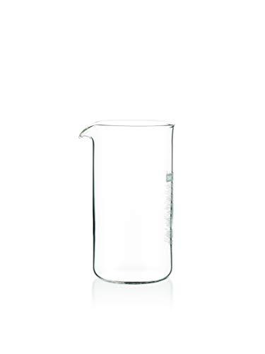 Bodum - 1503-10 - Verre de Rechange pour Cafetière à Piston 3 Tasses - 0.35 L