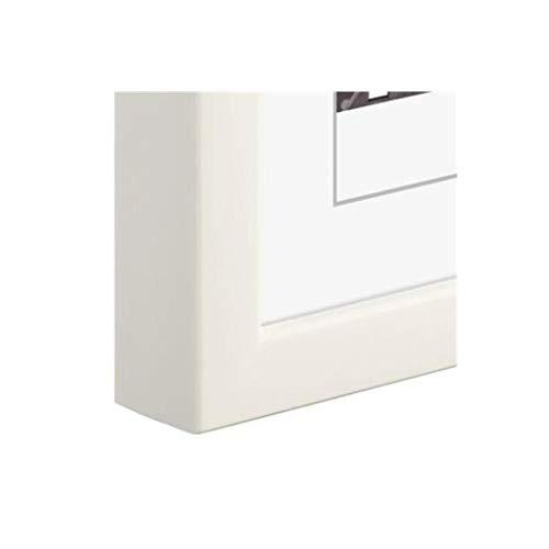 Hama Rio weiß Gepunkteter von Fuß Hintergrundbeleuchtung-Rahmen Glas, Kunststoff, Holz, Weiß, Display, Hintergrundbeleuchtung, Tisch, rechteckig, 30x 40cm