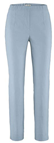 Stehmann INA740 The Orginal Stretchhose Pull-on Hose Collection *** mit EXTRA Prinidor Schal/-Tuch passend zur Hosenfarbe *** (40, Blue heron-2019) Collection Casual Hosen