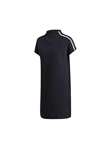 adidas Damen ZNE Logo Kleid Black L