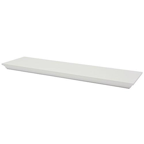 Preisvergleich Produktbild B!organised Classic 1150962 XL4 Regal, 80x23,5cm, Off-White
