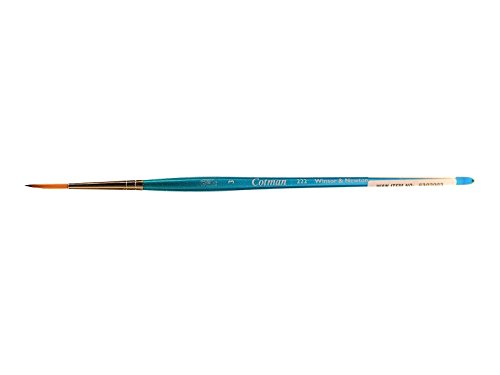 Winsor & Newton 222 Cotman - Pincel redondo (tamaño 3, mango corto)