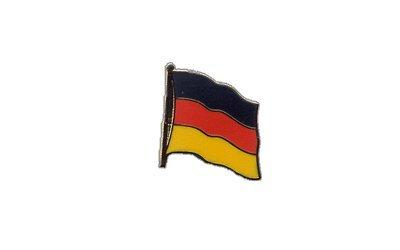 Flaggen-Pin / Anstecker Deutschland vergoldet