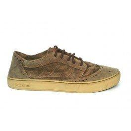 Satorisan 161019 Sneakers Uomo Camoscio + Tessuto Tortora Tortora 42