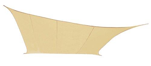 Kookaburra 4.0mx3.0m Rectangulaire Sable du Désert Voile d'Ombrage de Réception (Aérée - Résistante à l'Eau)