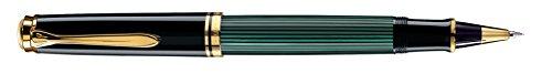 Pelikan 985424 Tintenroller Souverän R 400, schwarz/grün
