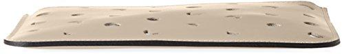 Chicca Borse 1536, Borsa a Spalla Donna, 25x17x2 cm (W x H x L) Beige (Taupe)