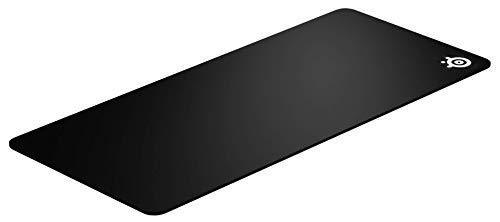 SteelSeries QcK XXL - Tapis de souris Gaming - 900mm x 400mm x 4mm - Tissu - Base en gomme - Noir - Taille XXL