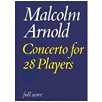 Concerto for 28 Players: Op. 105: Full Score