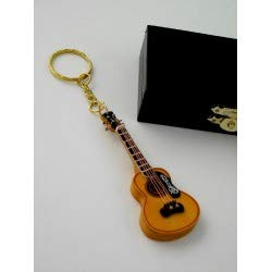 REGALOS LLUNA Llavero Miniatura Musical Llavero Guitarra
