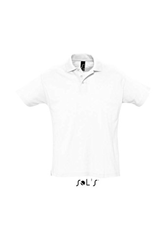 SOL´s Summer Poloshirt White, L