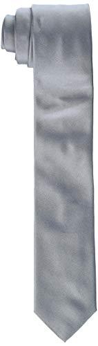 HUGO Tie Cravatta, Grigio (Open Grey 061), Unica (Taglia Produttore: ONESI) Uomo