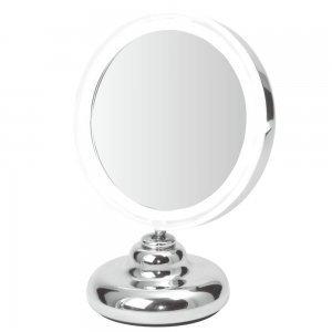 Miroir de table LED à ventouse Grossisant x 5 Fonctionne avec piles Petite taille